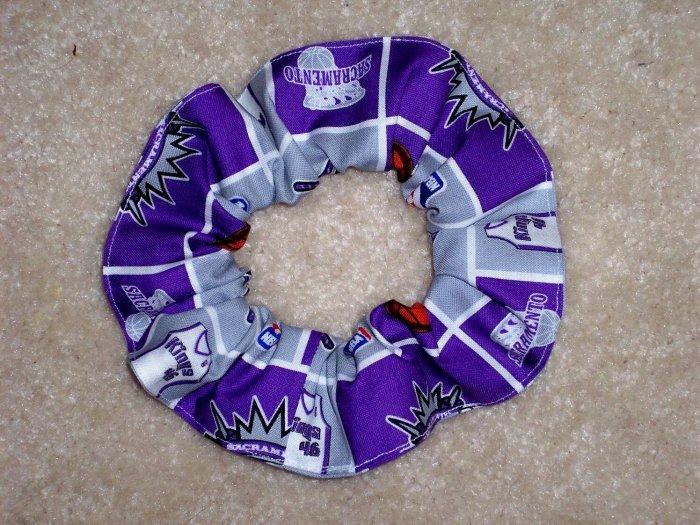 Sacramento Kings Basketball Fabric hair Scrunchie Scrunchie NBA