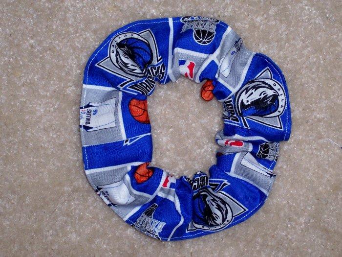 Dallas Mavericks Basketball Fabric Hair Scrunchie Scrunchies NBA