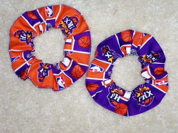 Phoenix Suns Basketball Fabric Hair Scrunchie Scrunchies NBA