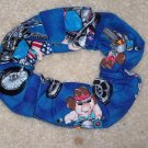 Pigs Hogs on Bikes Motorcycles Fabric hair Scrunchie Scrunchies by Sherry