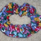 Disney Winnie the Pooh Christmas Presents Fabric hair Scrunchie Scrunchies by Sherry