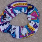 Fresh from the Dentist Dental Scrub Print Fabric Hair Scrunchie Scrunchies