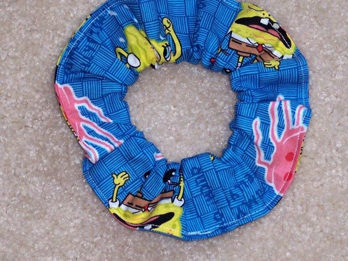 Spongebob Squarepnts Jumping Jellyfish Fabric Hair Scrunchie Scrunchies