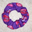 The Red Hat Ladies Fabric Hair Scrunchie Scrunchies