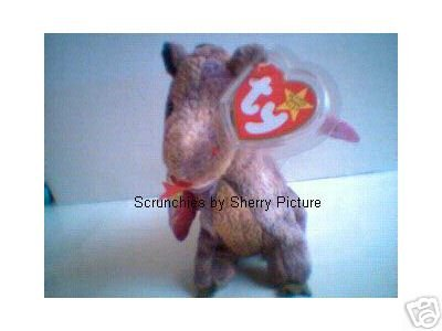 Scorch the Dragon Ty Beanie Babies 1998