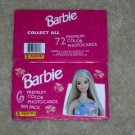 1999 BARBIE PREMIUM COLOR PHOTOCARDS PACKS
