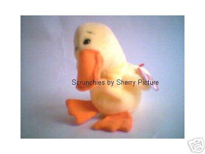 Quackers the Duck Ty Beanie Babies 1994