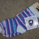 Cleveland Indians Girls Pastal Socks 6-8 MLB