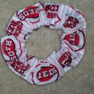 Cincinnati Reds Baseball Fabric  Scrunchie Scrunchies
