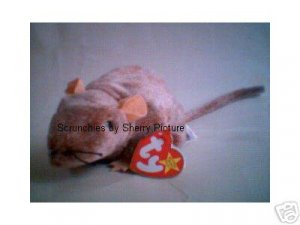 Tiptoe the Mouse Ty Beanie Babies 1999