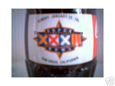 Super Bowl XXXII San Diego, CA Coke Coca Cola Bottle