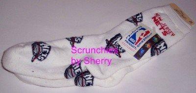 New Jersey Nets Basketball Ladies Team Socks NBA 9-11