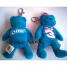 DALE EARNHARDT JR MINI OREO BEAR KEY CHAIN