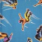 Skateboarding Blue Fabric  Hair Scrunchie Scrunchies