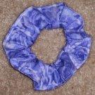 Light Purple Roses Fabric Hair Scrunchie Scrunchies