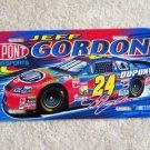 Jeff Gordon Car License Plate Tag NASCAR