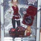 Singing Holiday Pop Star Hannah Montana Doll Disney 08 Miley Cyrus Rock