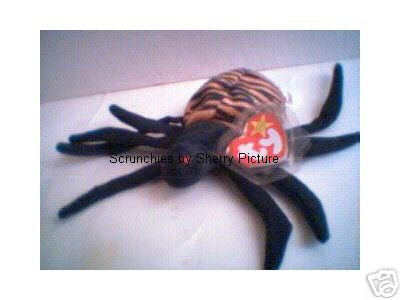 Spinner the Spider Ty Beanie Babies 1996