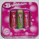 3 Bubblicious Scented Lip Balm in Tin Strawberry Apple