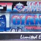 1999 NEW YORK GIANTS  TRUCK & TRAILER NFL