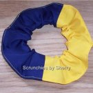 Pick Your School Cotton Fabric Hair Ties Scrunchie