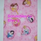 4 Disney Princess Faces Flannel Burp Cloths Baby Girl