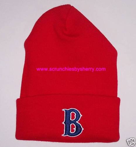 Boston Red Sox Ski Beanie Knit Cap Hat MLB
