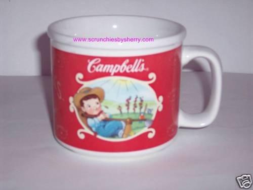 2002 Campbells Farm Soup Ceramic Coffee Mug Mm! Mm!