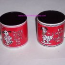 3 Dalmations Dogs Valentines Hearts Coffee Mugs