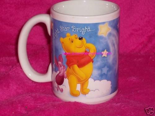 Disney Winnie Pooh Piglet Tigger Star Bright Coffee Mug