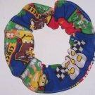 Elliott Sadler M&M's # 38 Fabric Hair Scrunchie NASCAR Scrunchies by Sherry