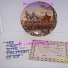 Oklahoma 2nd Collector Plate Surrey Fringe Top Bradford
