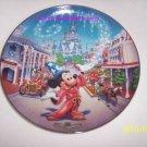 Walt Disney World Main Street USA Collector Plate Bradf