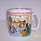 Giant Looney Tunes Bugs Daffy Duck  Coffee Mug Football