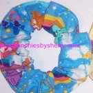 Care Bears Blue Fabric Hair Scrunchie Scrunchie