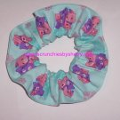 Care Bears Green Fabric Hair Scrunchie Scrunchies by Sherry