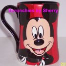 Disney Store Mickey Mouse Red Coffee Mug  NEW