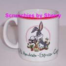 Looney Tunes Bugs Bunny Ceramic Coffee Mug  Expresso