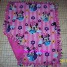 Disney Pink Minnie Mouse  Fleece Baby Pet Lap Blanket