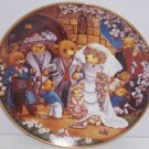Teddy Bear Wedding Plate Franklin Mint Bride Groom Collector Retired Vintage