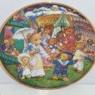 Teddy Bear Fair Collector Plate Franklin Mint Retired Child Room