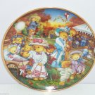 Teddy Bear Outing Family Fun Collector Plate Franklin Mint Vintage Retired