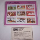 Disney 101 Dalmatians Animal Stories in  Postage Stamps Puppy Grenada Retired