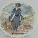 D'Arceau Limoges Woman Century Edith Practical 1915 Fashion Collector Plate