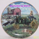 Farmland Memories Collector Plate Days of Splendor Danbury Mint