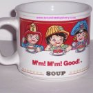Campbells Kids Soup Mug Career Ceramic Coffee Mug Mm! Mm! Vintage 1993