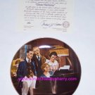 Norman Rockwell Collector Plate Close Harmony Bradford Exchange Vintage Retired