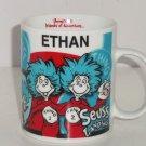 Dr Seuss Landings Ethan Coffee Mug Universals Islands of Adventure Thing 1 2 Cup