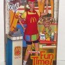 Barbie Kelly Doll 2001 McDonald's Fun Time Hamburger Fries Soda Gift Set MIB