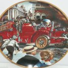Fire Truck Museum Collector Plate 1922 Ahrens Fox Franklin Mint Retired Vintage